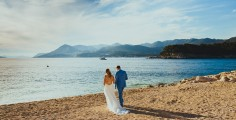 Dubrovnik beach wedding